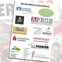 Dirndlparty-Musikverein Eningen unterstützt durch die Praxis van Rossenberg