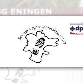 """Sponsor DPSG Pfandfinder Aktion """"Schritte wagen"""""""