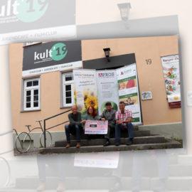 Freundeskreis spendet an Kult'19 in Eningen